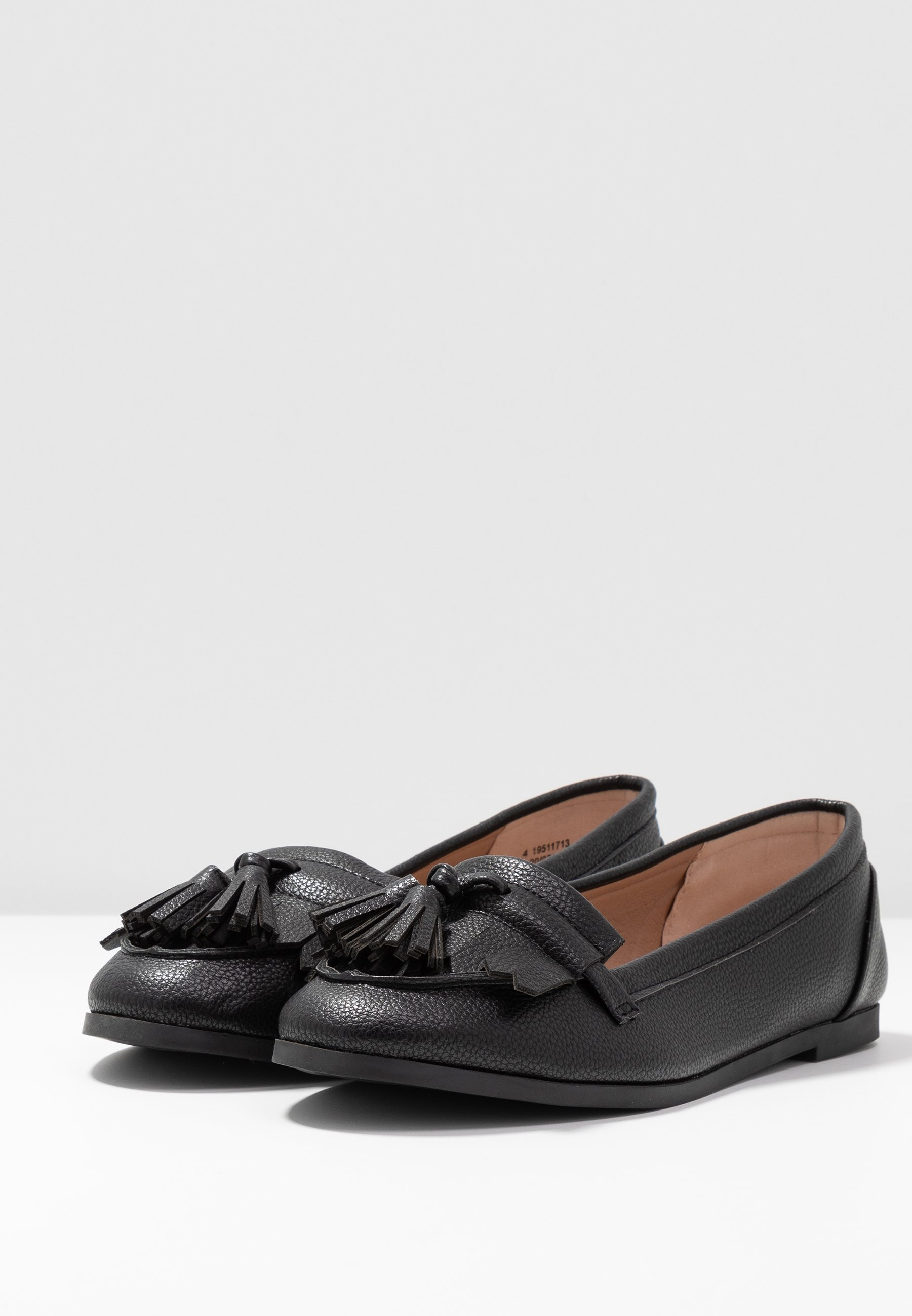 Dorothy Perkins LATINO FRINGE LOAFER - Slippers - black