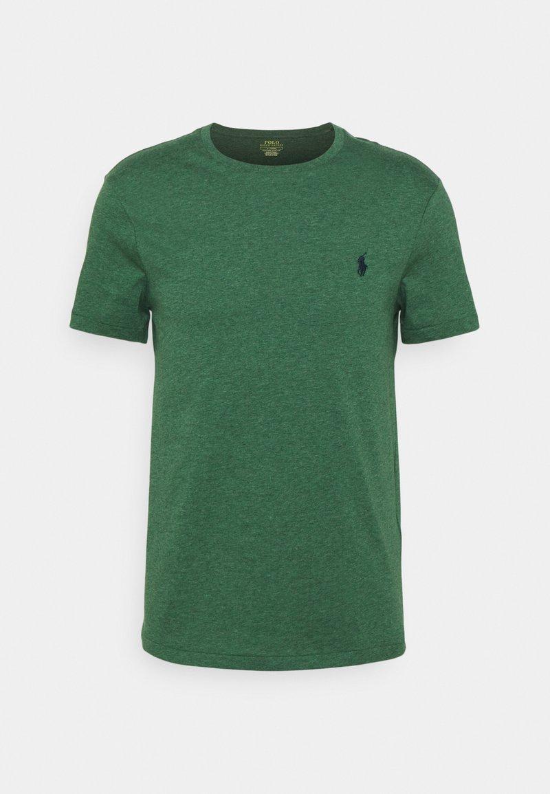 Polo Ralph Lauren - CUSTOM SLIM FIT JERSEY CREWNECK T-SHIRT - Basic T-shirt - verano green heather
