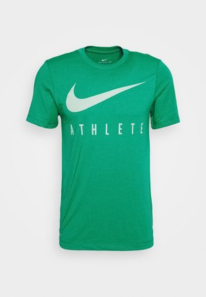 DRY TEE ATHLETE - T-shirt imprimé - neptune green