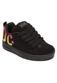 DC Shoes - Trainers - black/black/orange - 3