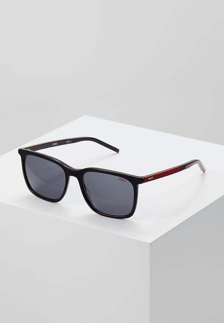 HUGO - Sunglasses - black/red