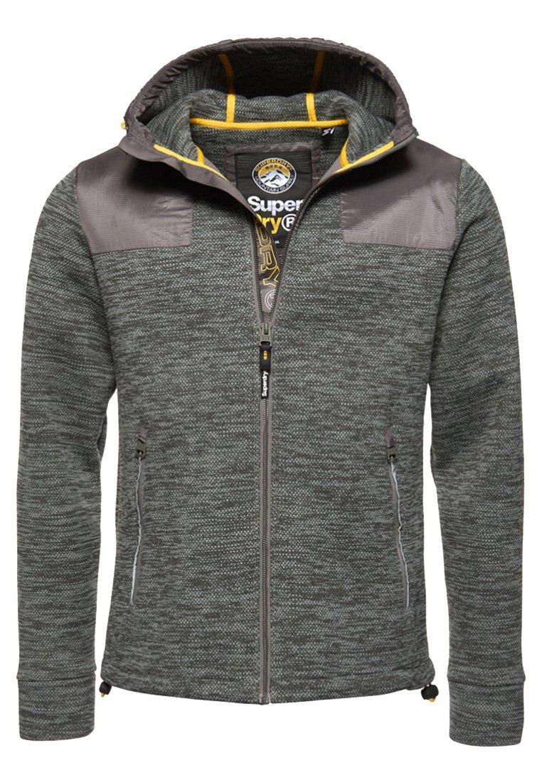 Men MOUNTAIN HOODIE MET RITS - Zip-up sweatshirt