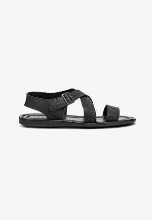 HARRY - Sandaalit nilkkaremmillä - black