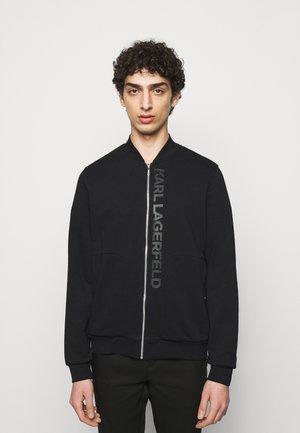 ZIP JACKET - Sweat à capuche zippé - black