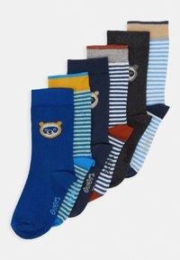 Ewers - BABYSOCKS LITTLE  6 PACK - Ponožky - grau/tinte/aqua - 0