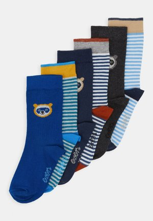 BABYSOCKS LITTLE  6 PACK - Ponožky - grau/tinte/aqua
