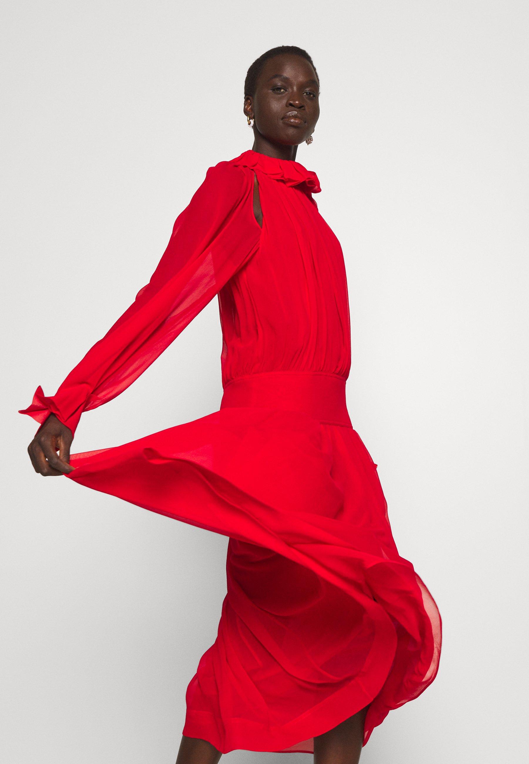 Damen DRAPED GATHERED DRESS - Cocktailkleid/festliches Kleid