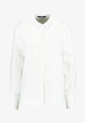 ZITA GLITTER - Button-down blouse - milk