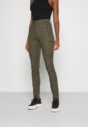 WELD HIGH CHINO - Trousers - khaki