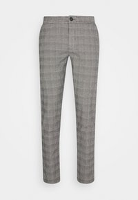 Redefined Rebel - KING PANTS - Chino - grey mustard - 4