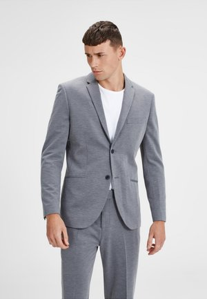 Blazer jacket - light grey melange