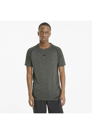 TRAIN TECH  - T-shirts basic - black