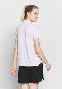 Nike Golf - DRY VICTORY - Funkční triko - barely grape/white - 2