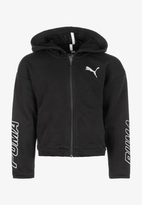 Puma - ALPHA - Zip-up hoodie - cotton black - 0