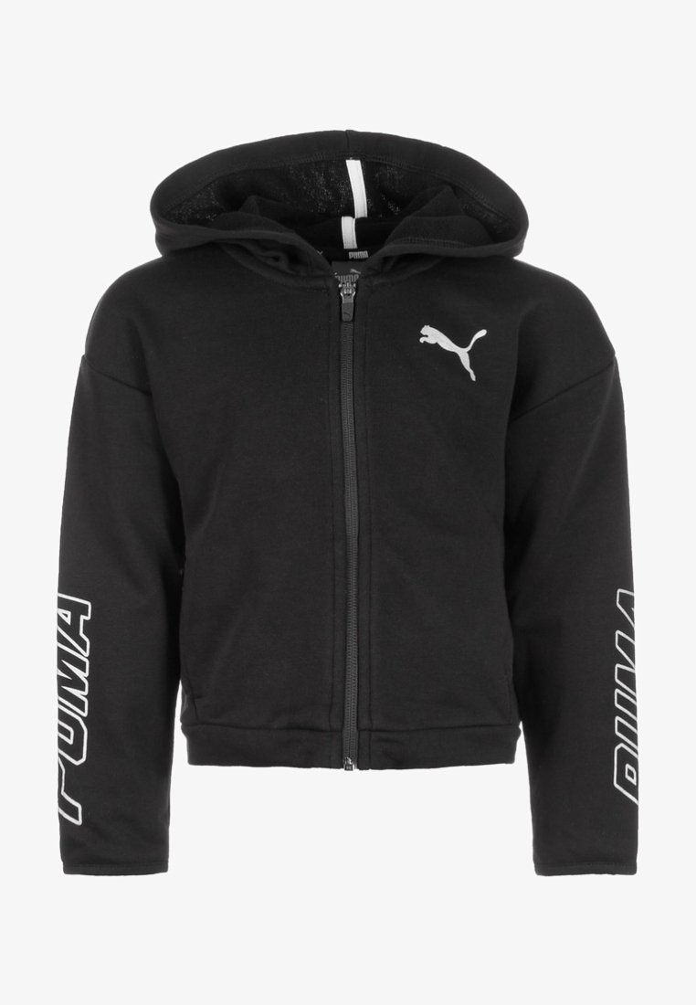 Puma - ALPHA - Zip-up hoodie - cotton black