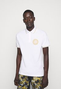 Versace Jeans Couture - ADRIANO LOGO - Polo - bianco - 0