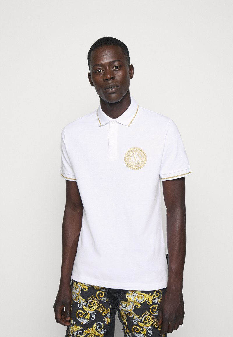 Versace Jeans Couture - ADRIANO LOGO - Polo - bianco