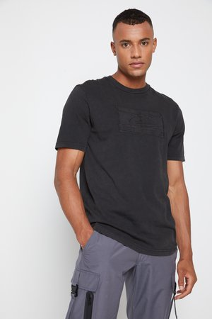 LEWIS HAMILTON UNISEX GMD LOGO TEE - T-shirts print - black