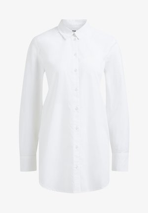 RELAXED FIT - Button-down blouse - white