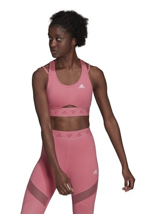 BRA  - Medium support sports bra - rose tone