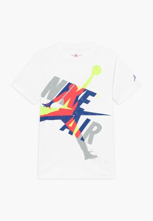 JUMPMAN  CLASSIC GRAPHIC - Print T-shirt - white