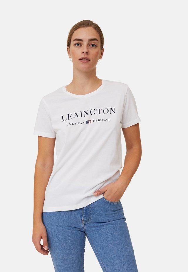 VANESSA  - T-shirts med print - white