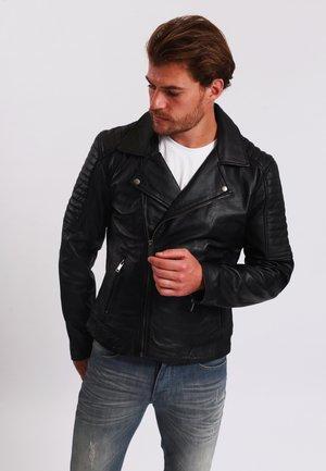 BALAIN - Leather jacket - black