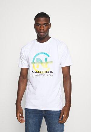 BULKHEAD - Print T-shirt - white
