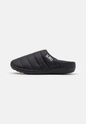 SUBU SLIP ON - Sandalias planas - black