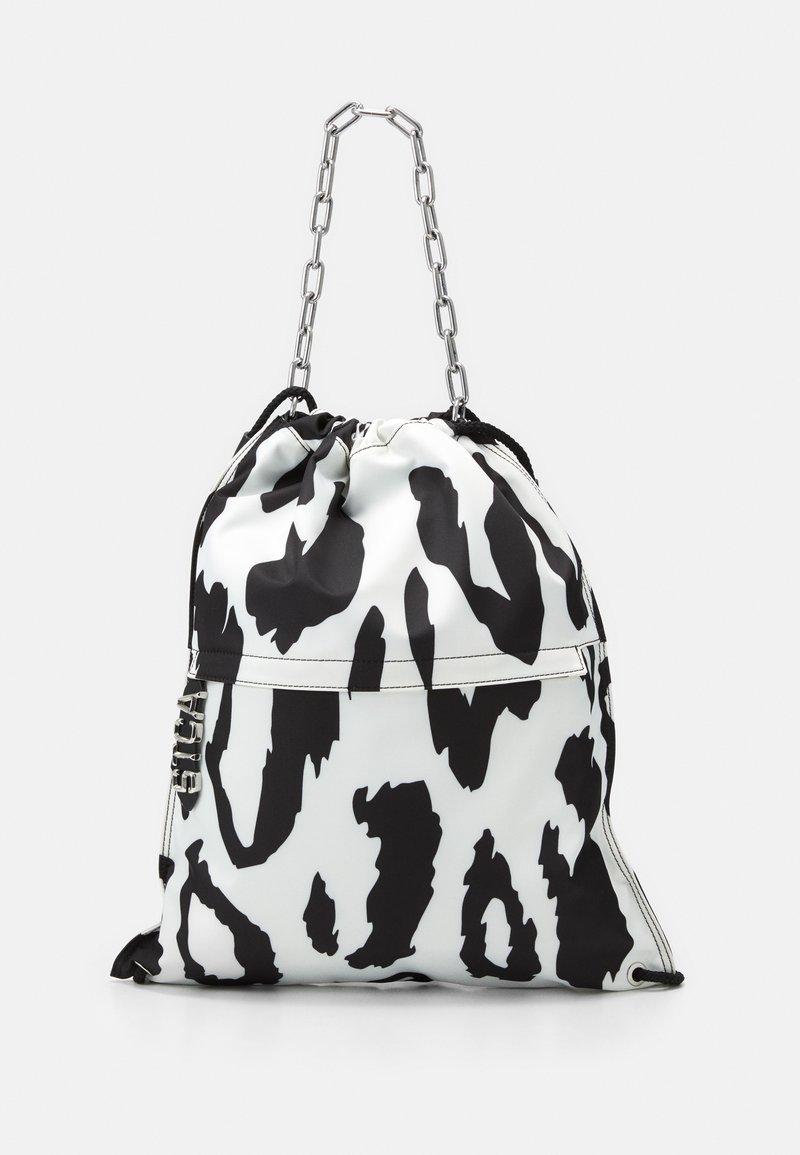 Just Cavalli - Tote bag - bianco/nero