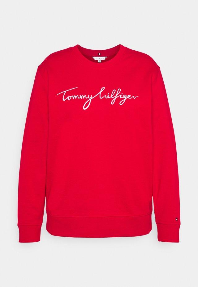 GRAPHIC - Sweatshirt - red