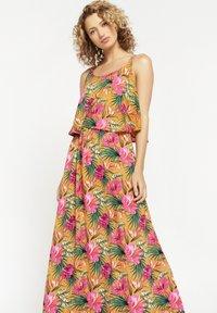 LolaLiza - TROPICAL - Maxi dress - yellow - 3