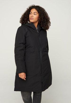 JUSTIERBARER - Winter coat - black