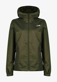 The North Face - Waterproof jacket - new taupe green white - 0