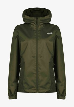 Waterproof jacket - new taupe green white