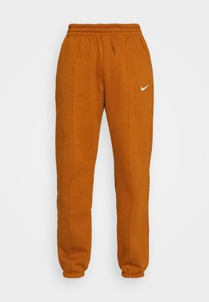 Tracksuit bottoms - tawny/white