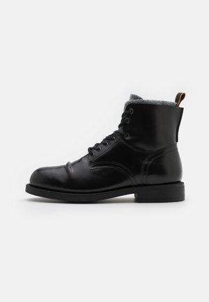 COLTAN - Lace-up ankle boots - black