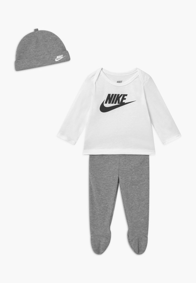 NIKE SET - Beanie - grey heather