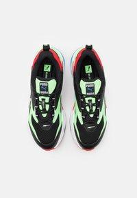 Puma - RS-FAST - Tenisky - black/elektro green/high risk red - 3