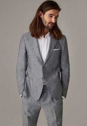 ACON - Blazer jacket - grau strukturiert