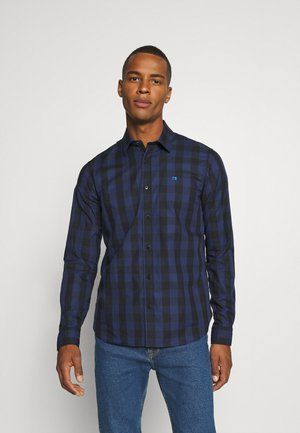 REGULAR FIT- CLASSIC CHECK  - Overhemd - dark blue/black