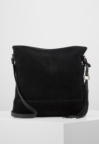 Anna Field - LEATHER - Bandolera - black - 0