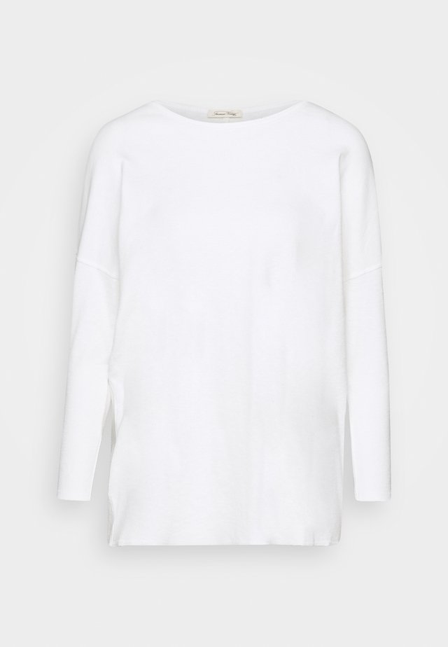 SONICAKE - Long sleeved top - blanc