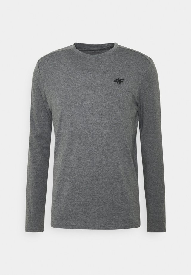 Men's long sleeve - Langærmede T-shirts - grey