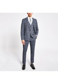 River Island - Suit waistcoat - blue - 1