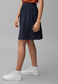 Marc O'Polo DENIM - Pleated skirt - scandinavian blue - 4