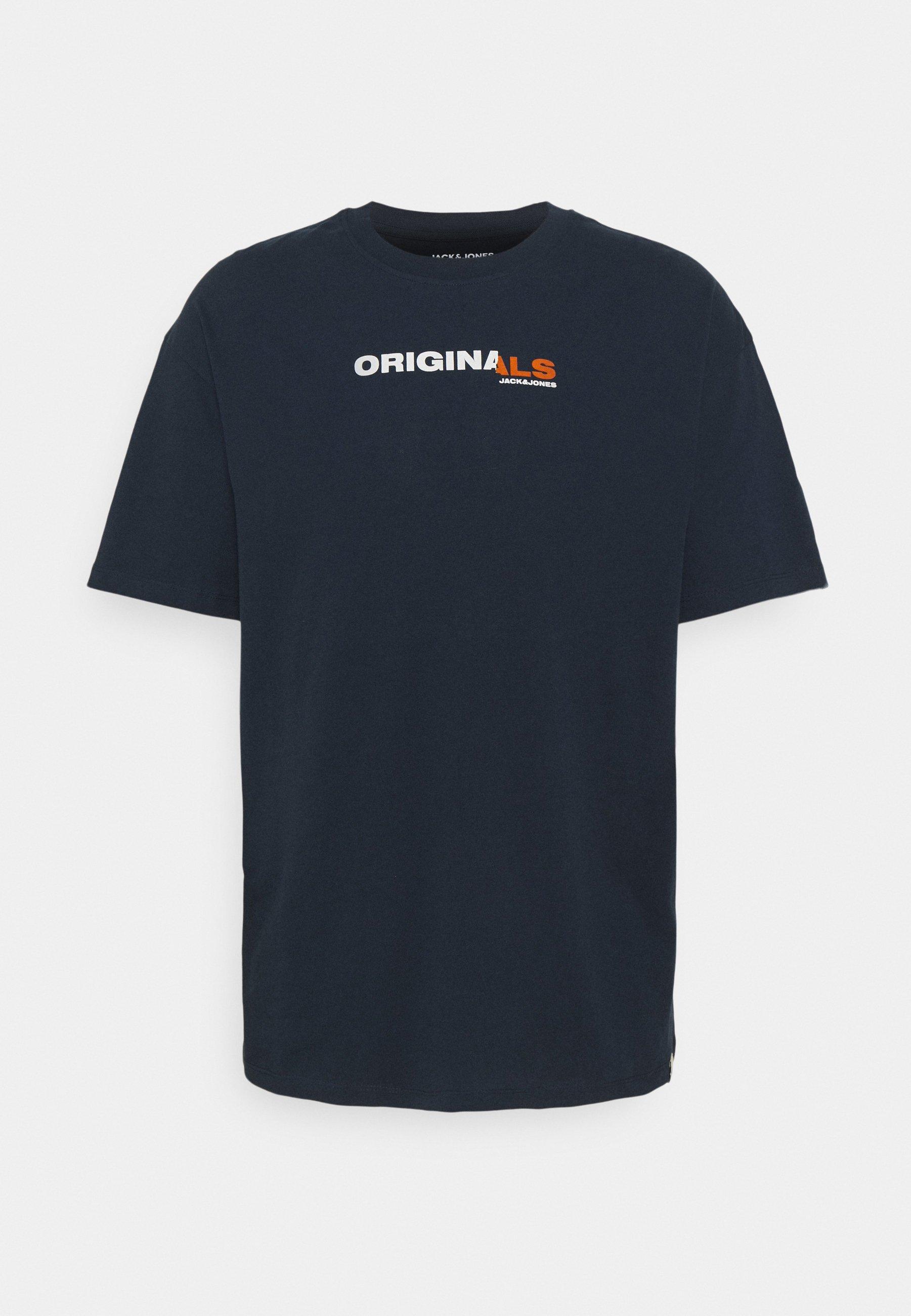 Men JORTROPI TEE CREW NECK - Print T-shirt