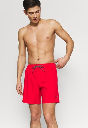SWIM MEN MEDIUM LENGTH - Swimming shorts - red