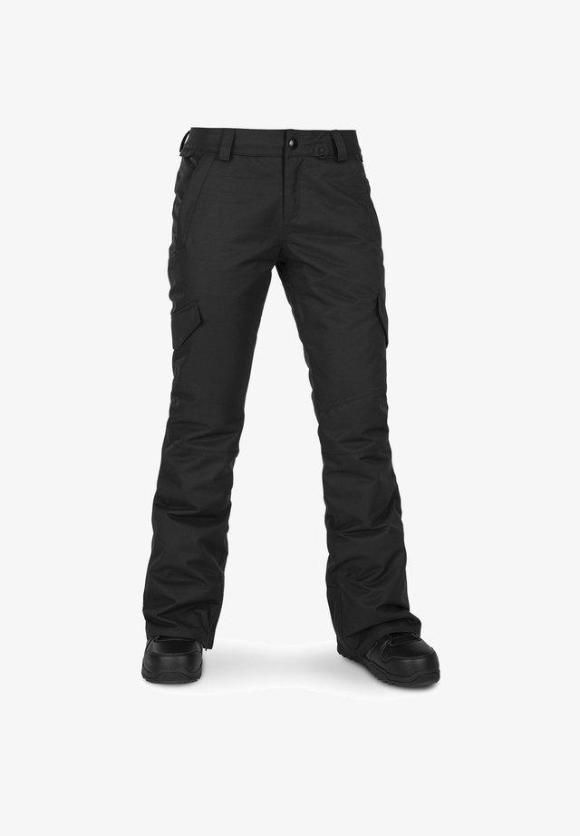 BRIDGER INS PANT - Pantaloni da neve - black