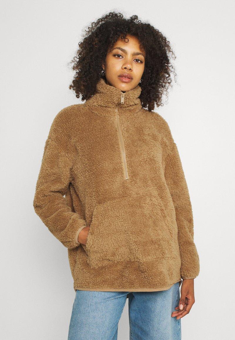 Vero Moda - VMFILLY   - Fleece jumper - brown